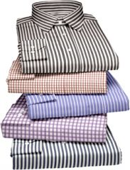 Gift Or Buy Pack Of 5 Assorted Formal Shirts For Men