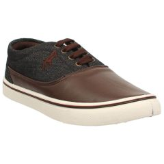 Menz Black & Brown Sneakers Casual Shoes A-1