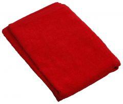 Sferra Towel - 100% Combed Turkish Cotton  Wash Cloth (12x12) 12x12, Red
