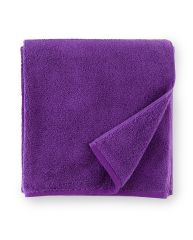 Sferra Towel - 100% Combed Turkish Cotton  Fingertip Towel (12x20) 12x20, Grape