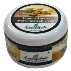 Aromablendz Almond & Aloe Vera Body Cream