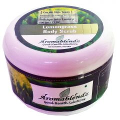 Aromablendz Lemongrass Body Scrub