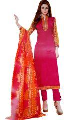 Dress Materials - Biba Embroidered Salwar Suit with Dupatta Dress Material UC133