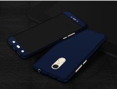 Ipaky Front & Back Case for Mi Redmi Note 4 (Blue)
