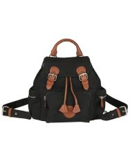7f37adb9de Buy Chanter Beautiful Texture Design Genuine Leather Black Backpack ...