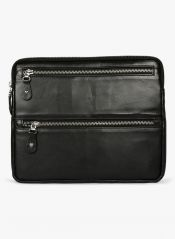 JL Collections Black Leather document Holder (Product Code - LI-3398)