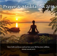JL Collections Prayer and Meditation Wall Calendar 2019