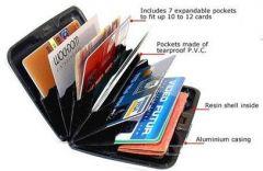 ININDIA Plastic Waterproof Aluma Card Holder  ( waterproof)