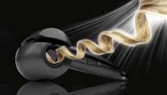 ININDIA Professional Automatic Hair Curler for All types of Hair ( Without lcd .royal black )