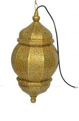 Duggals Golden Moroccan Hanging Lantern