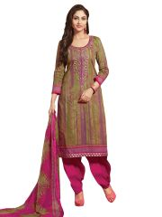 Stylee Lifestyle Multi Embroidered Dress Material 1033