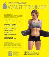Hot Shaper Slimming Sweat Belt Fat Burner Neoprene Belt Free Size