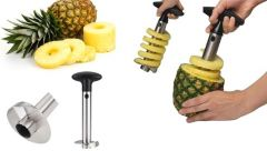 Connectwide-pineapple Corer Slicer Peeler(stainless Steel )