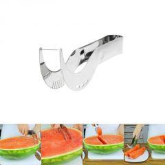 """9.5""""stainless Steel Watermelon Corer,server Slicer,cutter Splitter Kitchen Tool"""