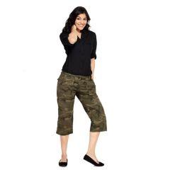 London Bee Army Army Womens 3-4 th Shorts - Code(WSLB0005)