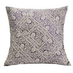 Jodhaa Cotton Black-White Cushion Cover