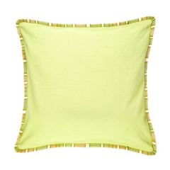 Jodhaa Cotton Lemon Cushion Cover (Code - 21CCVA038)