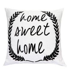 Jodhaa Linen White Cushion Cover