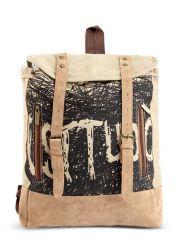 Baggabond  Cotton Canvas Messenger Bag BGCM0008