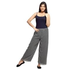 Loco En Cabeza Printed Lined Palazzo Pant for Women - (Product Code - CZWP0001)
