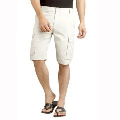 London Bee Solid Men's Cargo Shorts - ( Product Code - MSLB0039 )