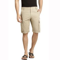 London Bee Solid Men's Cargo Shorts - ( Product Code - MSLB0041 )
