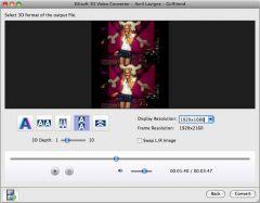 Xilisoft 3D Video Converter for Mac