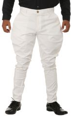 Breakthrough Trendy Jodhpur Breeches (White)