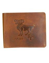 Hidelink Men Formal Brown Genuine Leather Wallet (SW4048)