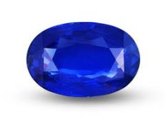 Ratna Gemstone 3.50 Carat Natural Certified Blue Sapphire/Neelam Gemstone