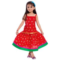 Decot Paradise Girls Top and Skirt Set  (KID2090