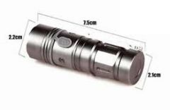 Cree Led Torch Rechargeable
