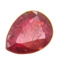 Untrated Manik Enhanced 1.02 Ct Ruby Gemstone