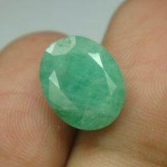 Certified Natural Emerald Panna 9.55rt 8.65ct