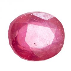 Barishh Natural 6.20 Ct Oval Mixed Red Ruby Loose Certified Gemstone