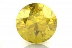 6.25 Ratti Natural Lab Certified Yellow Sapphire Stone