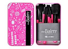 The Balm Cosmetics 12 Pcs Makeup Brushes in Case Box