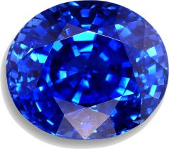 7.50 Ct 100% Indian  Natural Oval Shape Blue Sapphire Loose Gemstone