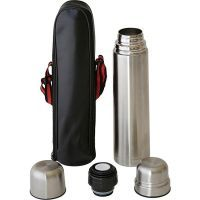 1 L Double Wall Stainless Steel Vacuum Flask Thermal Thermos Hot Or Cold