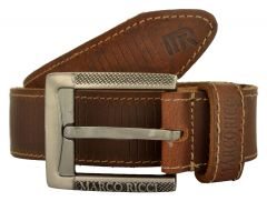 MARCO RICCI Handmade Genuine leather Belt For Men's
