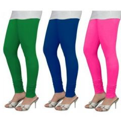 Alien Sale Multicolor Cotton Lycra Leggings-3