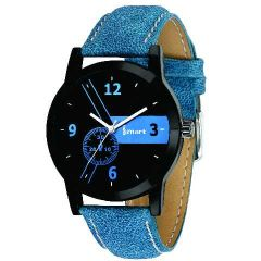 Mens & Boys Analog Blue Wrist Watch's