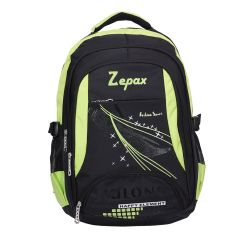 Black and Green Classy School Bag
