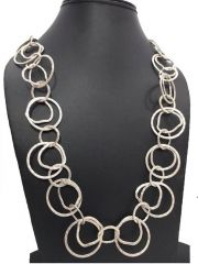 Sparkle Oxidized plated Long Chain(code - LINK-CHN-0213)