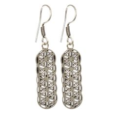 Sparkle Oxidized plated Earrings(code - ER-001-07-18)
