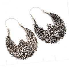 Sparkle Oxidized plated Earrings(code - ER-042-7-18)