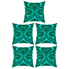 Digital printed designer multi color cushion cover (Code - 5CED0014)