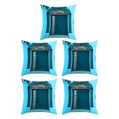 Digital printed designer multi color cushion cover (Code - 5CED0028)