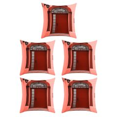 Digital printed designer multi color cushion cover (Code - 5CED0030)