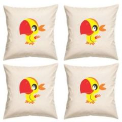 Digital Print Canvas Cushion Cover 16 Inches Set Of 4 By Admire Home (code - Sofa Ahcc019)